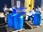 We used the dunk tank water for local irrigation projects.